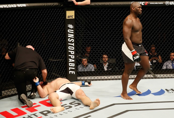 Jared Cannonier Cyril Asker UFC Croácia (Foto: Getty Images)