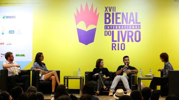 Globo promove debate para educadores na Bienal (Globo/Alexandre Horta)