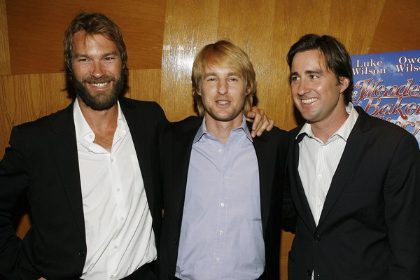 Andrew, Owen e Luke Wilson (Foto: Getty Images)