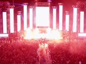 Cena de trailer do HARD Summer Music Festival (Foto: Reprodução/Site oficial)