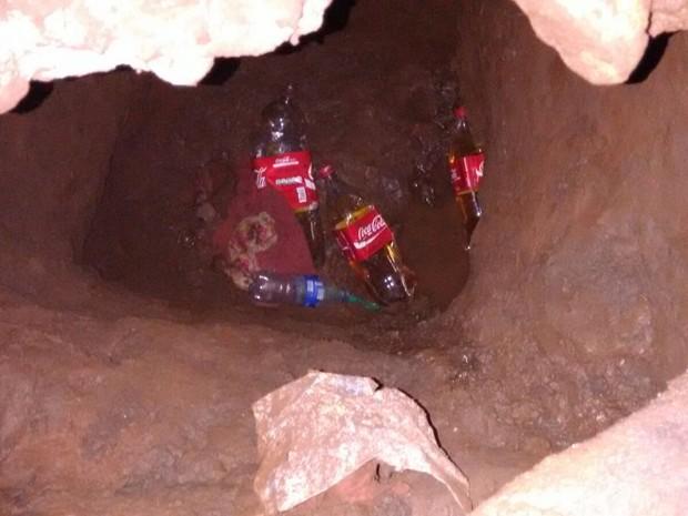 Túnel Presídio Carazinho (Foto: Divulgação/Susepe)
