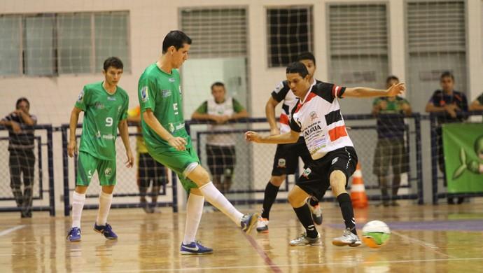 Caucaia vence Maranguape na Copa TVM de Futsal (Foto: Zé Rosa Filho/FCFS/Divulgação)