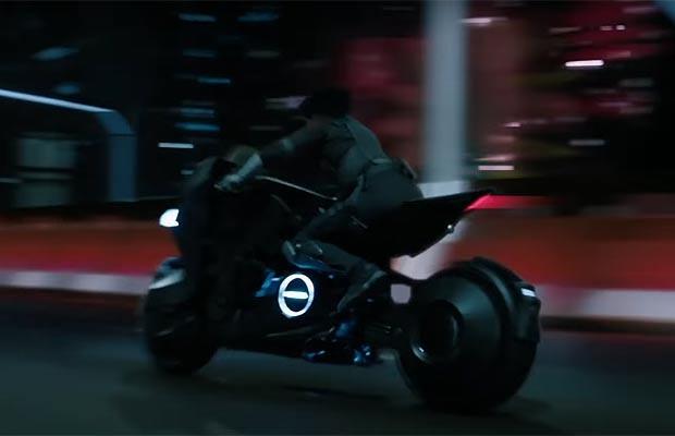 Honda cria moto futurista para o filme A Vigilante do Amanhã (Foto: Reprodução)