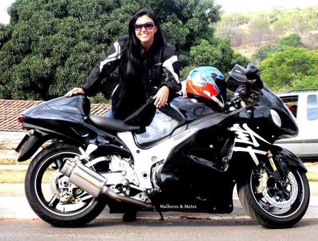 vanessa daya acidente motociclismo brasília (Foto: Reprodução / Facebook)