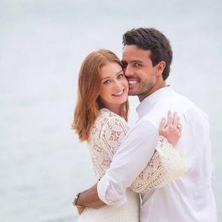Marina Ruy Barbosa com o namorado, Xandinho Negrão (foto de arquivo) (Foto: Instagram/ Reprodução)