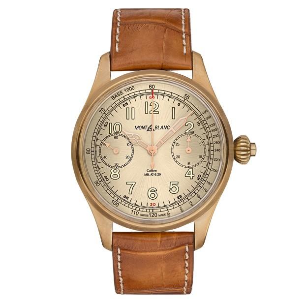 Montblanc Chronometer Tachymeter Limited Edition 100 (Foto: Divulgação)