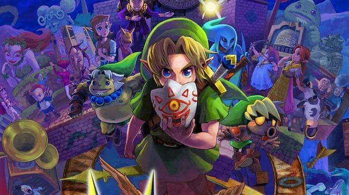 The Legend of Zelda: Majoras Mask (Foto: Divulgação/Nintendo)