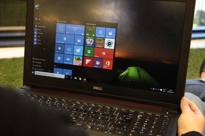 Windows 10 (Foto: Carolina Ochsendorf/TechTudo    )