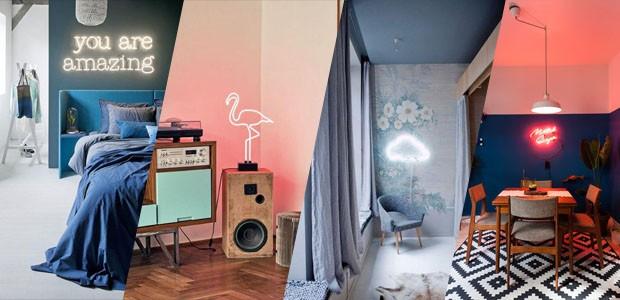 Neon na decoração: 19 ideias para aderir à tendência (Foto: Divulgação)