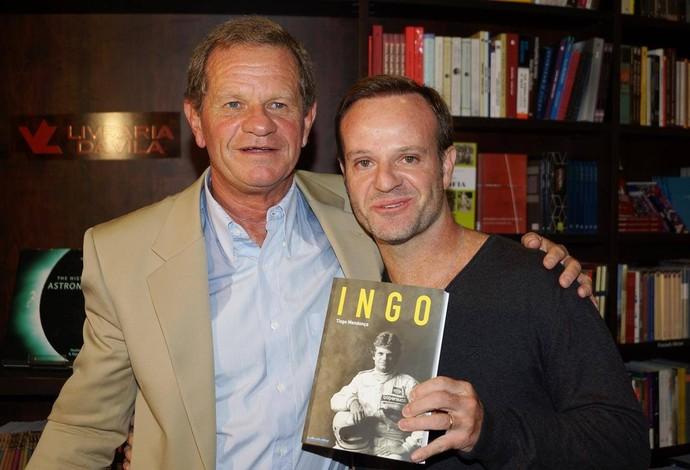 Ingo Hoffmann e Rubens Barrichello (Foto: Antonio Dantas/Divulgação)