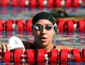 Nadadora Jessica Cavalheiro na Tentativa Olímpica (Foto: Satiro Sodré / Agif)