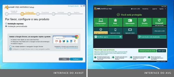 Os antivírus gratuitos Avast e AVG são as melhores opções gratuitas (Foto: Reprodução) (Foto: Os antivírus gratuitos Avast e AVG são as melhores opções gratuitas (Foto: Reprodução))