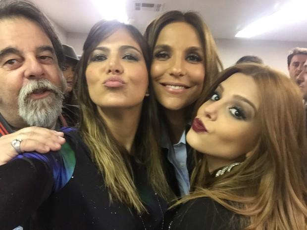 Ivete Sangalo, Carol Sampaio e Giovanna Lancellotti (Foto: Divulgação)