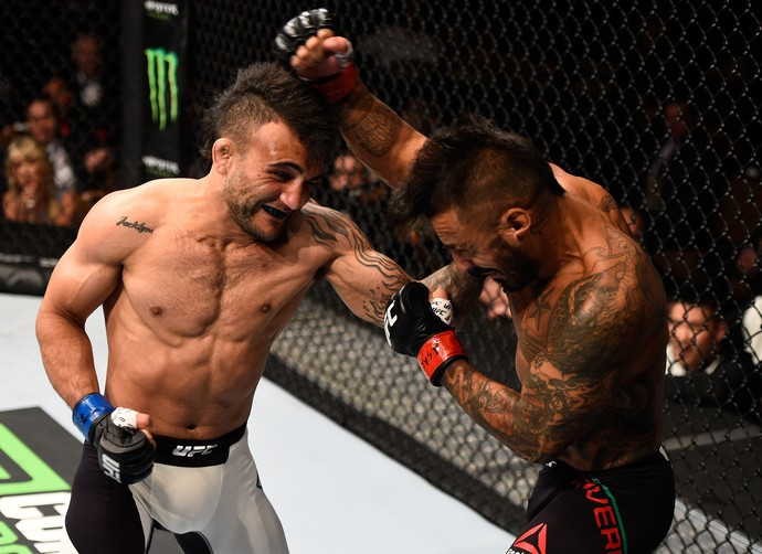 John Lineker x Francisco Rivera (Foto: Getty Images)