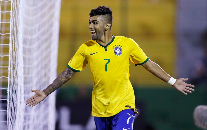 Gabriel, gol Brasil x Venezuela sub-20 (Foto: Reuters)