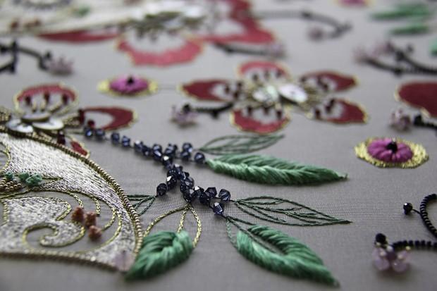 Swarovksi organiza curso de bordados com cristais (Foto: Divulgação)
