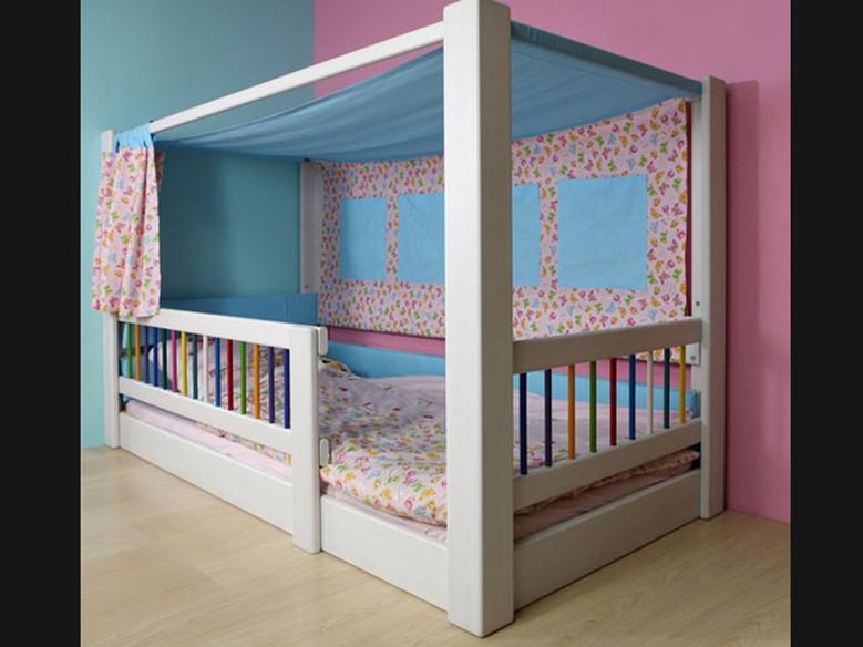 Cama infantil m vel ganha formas criativas casa gnt - Cama coche infantil ...