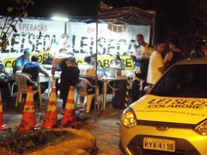 Operação Lei Seca em Petrópolis (Foto: Divulgação/Ascom PMP)