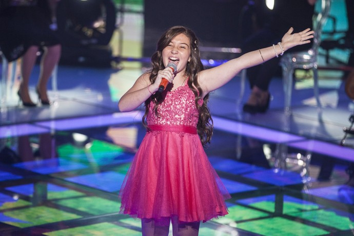 Pérola Crepaldi The Voice Kids (Foto: Globo/ Pedro Curi)