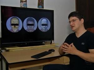 Cícero Moraes contará com a ajuda de um especialista em odontologia legal.  (Foto: Reprodução/ TVCA)