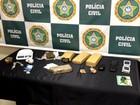 Dois homens são presos com 4 kg de maconha em Barra Mansa, RJ