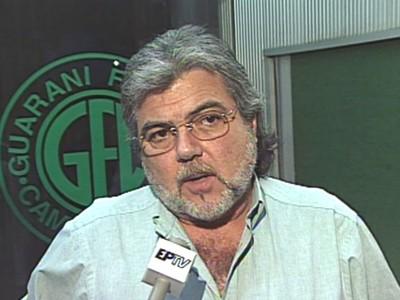 Beto Zini presidente Guarani 1997 (Foto: Reprodução / EPTV)