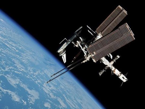 Estação Espacial Internacional, em foto de arquivo. (Foto: Nasa)