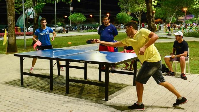 Tênis de mesa é uma das modalidades (Foto: Igorh Martins)