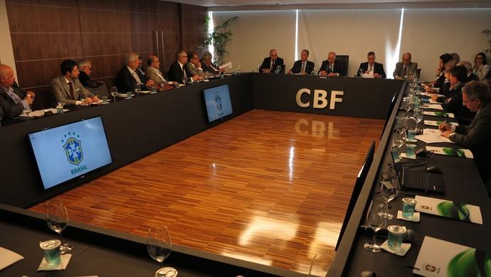 reunião presidentes clubes sede cbf (Foto: CBF divulgação)