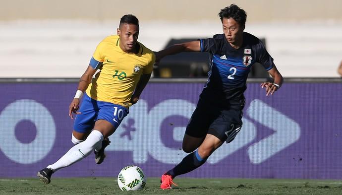 Neymar Brasil x Japão (Foto: Lucas Figueiredo/MoWA Press)