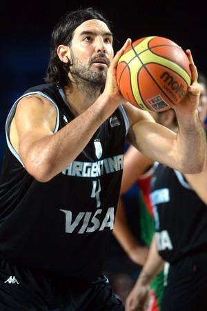 Basquete, Luis Scola, México e Argentina - torneio três nações (Foto: Agência EFE)