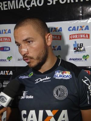 Marcão, goleiro do ASA (Foto: Leonardo Freire/GloboEsporte.com)