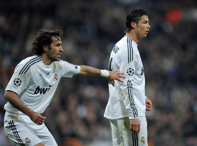 Raúl Hernández - Cristiano Ronaldo - Real Madrid (Foto: Getty Images)
