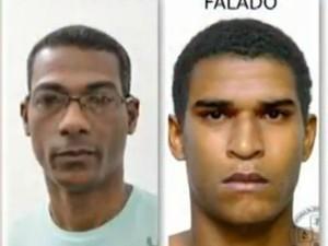 Retrato falado (Foto: Reprodução / TV Bahia)