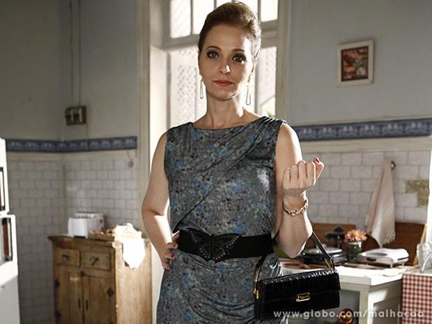 Alexandra Richter diz que se sente renovada ao atuar com jovens atores (Foto: Malhação / TV Globo)