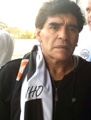 Maradona Camisa Atlético-mg (Foto: Rafael Araújo )