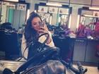 Enquanto Neymar curte balada, Bruna Marquezine acorda cedo para gravar