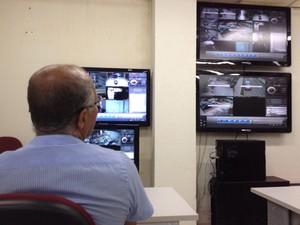 Número de câmeras deve aumentar de 20 para 242 e as novas serão interligadas ao Ciods (Foto: Kety Marinho/TV Globo)