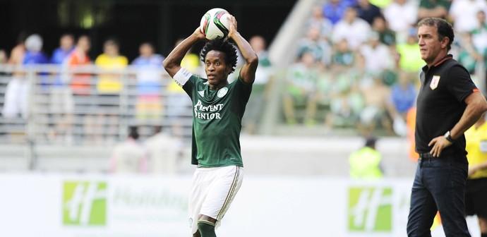 Zé Roberto Palmeiras x Shandong (Foto: Marcos Ribolli)