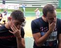 Companheiros em Goiás e Inter, Iarley e Renan se despedem de Fernandão