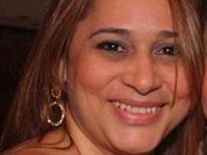 Foto de Sandra Pompermayer de Araújo foi divulgada pela Polícia Civil. (Foto: Pedro Ângelo/G1)