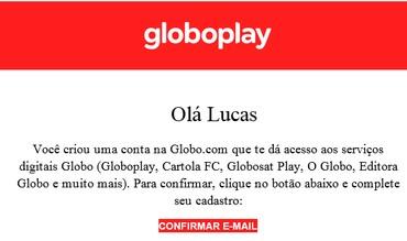 Aceitar convite Conta Família Globoplay (Foto: Globoplay)