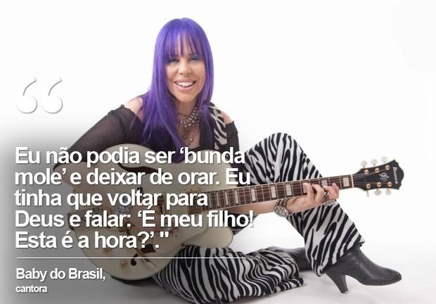 Baby do Brasil (Foto: Mariana Sciorilli/ Divulgação / Laboratório da Notícia)