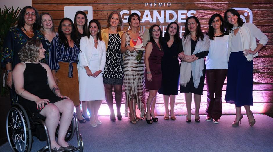 As vencedoras do Prêmio Grandes Mulheres  (Foto: Rafael Jota)