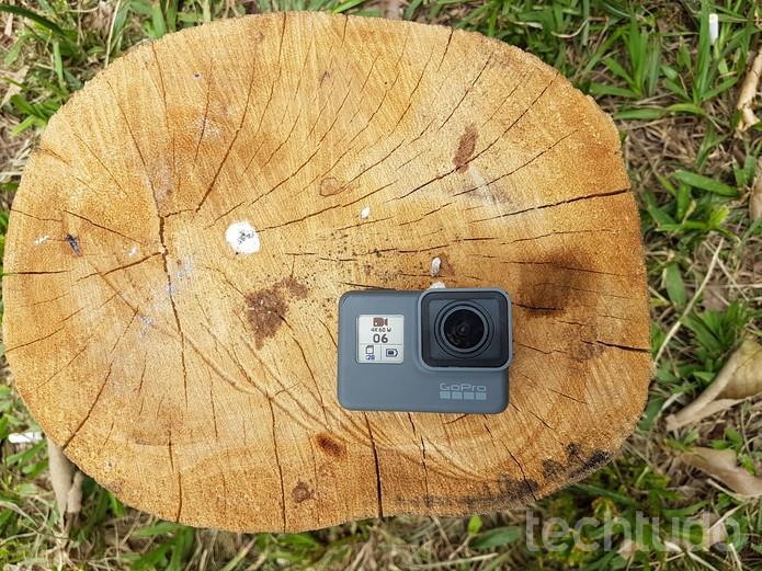 GoPro Hero6 Black é uma das melhores câmeras de ação disponíveis no mercado (Foto: João Gabriel Balbi/TechTudo)