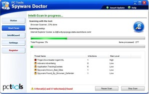 Scan Spyware Doctor