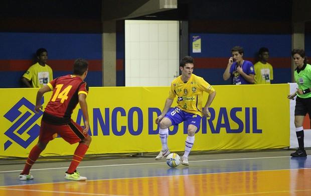brasil x bélgica futsal amistoso (Foto: ZEROSA FILHO/CBFS)