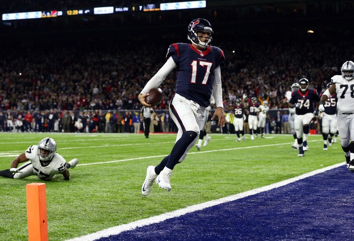 Houston Texans x Oakland Raiders - wild card AFC NFL - Brock Osweiler (Foto: Reuters)