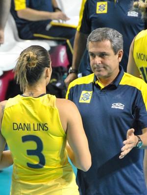 Zé Roberto Guimarães vôlei Dani Lins (Foto: João Gabriel Rodrigues)