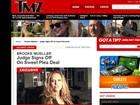 Ex-mulher de Charlie Sheen não vai ser presa por posse de cocaína